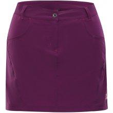 Alpine Pro softshellová sukně Delma 2 LSKJ055826 grap juice 8d5941f7e5
