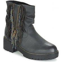 Coolway Kotníkové boty BARINA Černá