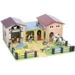 Le Toy Van farma s podložkou a ploty