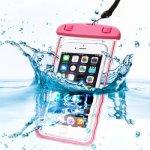 Pouzdro SES Univerzální vodotěsné Apple iPhone 6 7 8 X - růžové