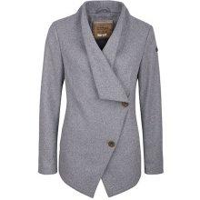 DreiMaster 390 841 kabát s příměsí vlny grau melange