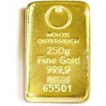MÜNZE Österreich Zlatý slitek 250 g