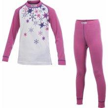 Dětské funkční termoprádlo set Craft Kids Active pink star
