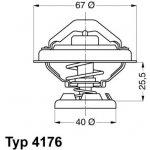 WAHLER Termostat WH 4176.85D