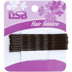 Magnum Hair Fashion pinetky do vlasů Brown 10 Ks