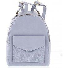 5659205a54 Hexagona Zoilo luxusní stylový kožený dámský batoh světle modrý
