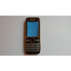 Kryt na mobilní telefon Kryt Nokia E52 stříbrný