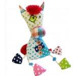 Bobobaby Plyšová hračka patchwork koník