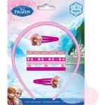 Sada 9ks sponky čelenka gumičky Ledové království Frozen