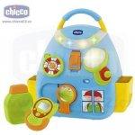 CHICCO kufřík hrající modrá