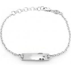 f04d996c2 iZlato Design stříbrný chlapecký náramek s vláčkem IS333 od 372 Kč ...