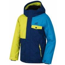 Hannah Chlapecká lyžařská bundy Timur JR - modro-žlutá cee1fb131b