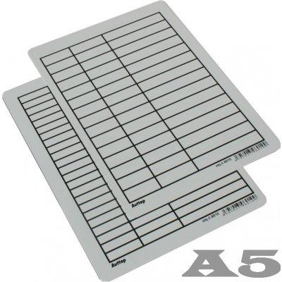 Školní lenoch papírový A5 linka/linka