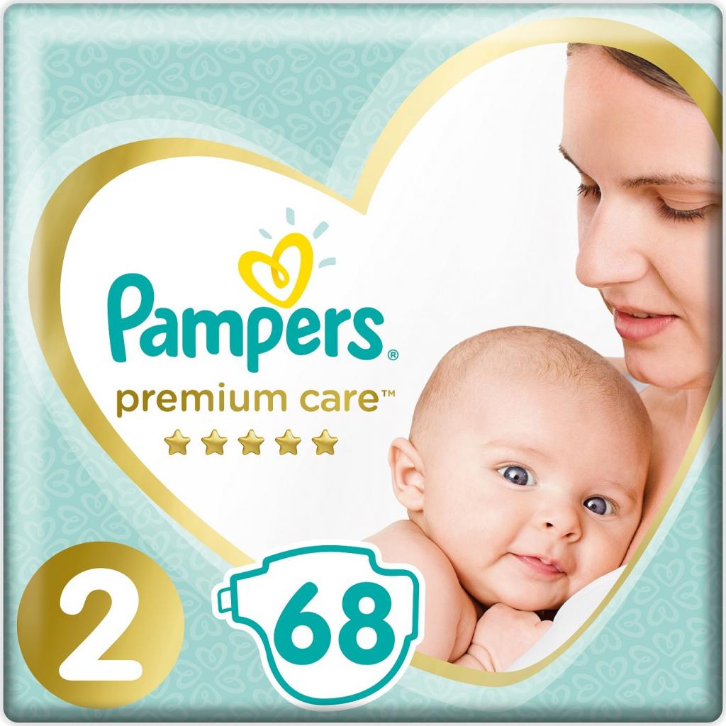 Pampers Premium Care 2 3-6 kg 80 ks