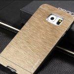 Pouzdro MOTOMO Hliníkové Samsung Galaxy S6 G920F Zlaté