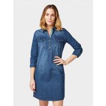 cae8a44f3aac Tom Tailor dámské džínové šaty 1008770 10282 modrá