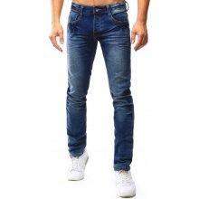 DSTREET Pánské modré džíny ux0370 modrá