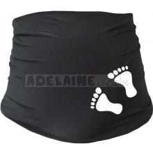 Mamitati těhotenský pás s nožičkami černá
