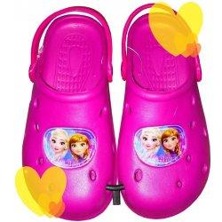 42bff06ae3b Dětská bota Setino Crocs Frozen růžová