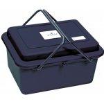 Busse Box na čištění dvě rukojeti Tm.modrá