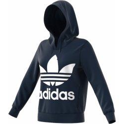 5ecc21b6cd8 Dámská mikina Adidas Originals Trefoil Hoodie tmavě modrá