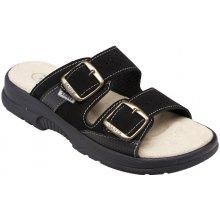 Zdravotní pantofle SANTÉ černé