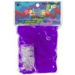 Gumičky Rainbow Loom® Original 600ks transparetní fialová