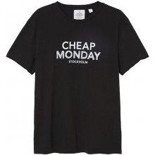 Cheap Monday Doodle Logo Tee Black