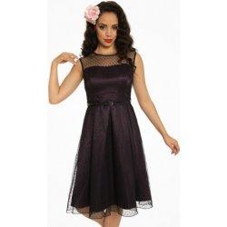 f4e7c174e4c Dámské šaty Lindy Bop dámské retro šaty Aleena ARV fialová