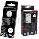 Krups F0540010 odvápňovač + XS300010 čisticí tablety