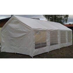 Zahradní domek Zahradní párty stan bílý, 4 x 8 m