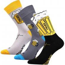 VoXX PIVoXX pivní ponožky mix barev