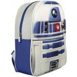 CurePink batoh Star Wars R2-D2 bílý BP091410STW