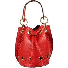 Leontina Rossa - krásná kožená kabelka cd9fa22b57b