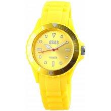 QBOS Men Analog Watch Yellow