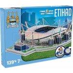 Nanostad 3D puzzle fotbalový stadion UK Etihad FC Manchester City