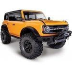 Recenze Traxxas TRX-4 Ford Bronco 2021 TQi RTR oranžový 1:10