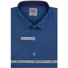 64a366a8b385 AMJ košile Style Slim s krátkým rukávem