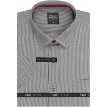 AMJ Style Slim košile s krátkým rukávem