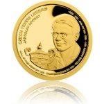 Česká mincovna Zlatá čtvrtuncová mince České tenisové legendy Jaroslav Drobný proof 7,78 g