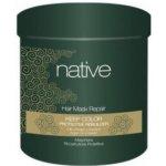 Native maska hloubkově obnovující s arganovým olejem a keratinem 1000 ml