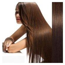 Clip in vlasy 55 cm 100% lidské – remy 70 g - odstín 6 - světle hnědá
