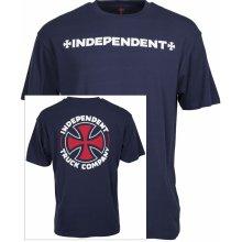 Independent ITC CROSS TEE Indigo