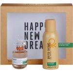 Benetton United Dream Stay Positive EdT 50 ml + deospray 150 ml dárková sada