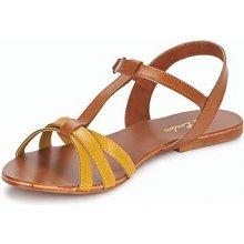 Betty London sandály IXADOL žluté