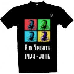 2de926104945 ftipnytricko.cz tričko s potiskem Bud Spencer Černá