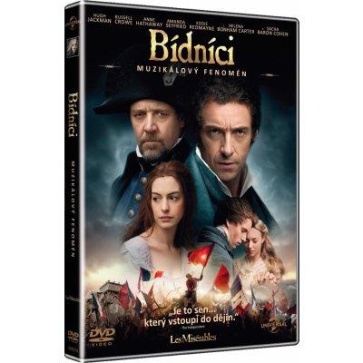 Bídníci - muzikál - české titulky DVD