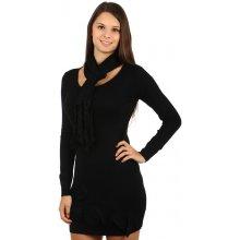 5261a68f90e YooY módní svetr s aplikací a šálkou 63SR31 černá
