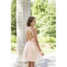 3513dc32b6dd Eva   Lola dámské šaty Pauline růžová