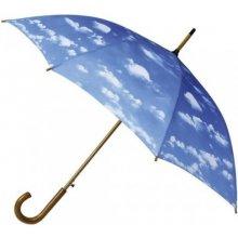 Dámský holový deštník CLOUDS mraky